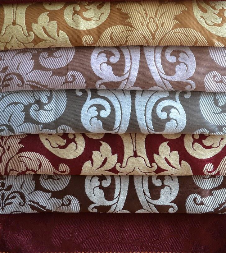 Набивные ткани блекаут для штор.