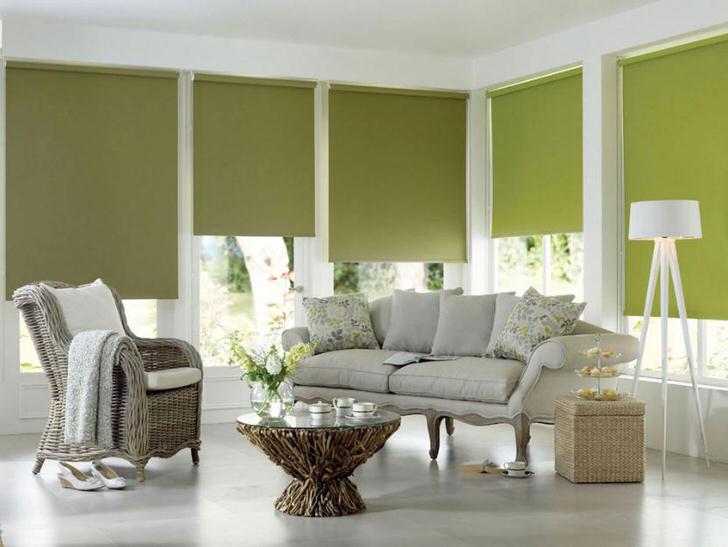 Богатая палитра цвета штор-плиссе, строгий, законченный вид, позволяет гармонично вписывать шторы в любой интерьер, от промышленного ЛОФТ до аристократичного модерн.