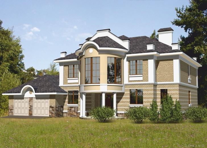 Роскошный дом-усадьба