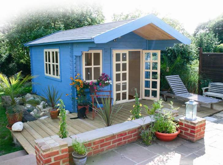 Как покрасить дом на даче своими руками 31
